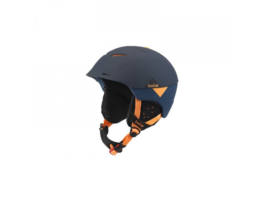 bolle casque synergy soft navy orange
