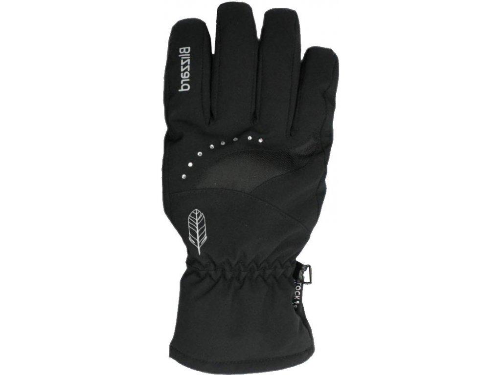 blizzard 190008 viva davos ski gloves black 0