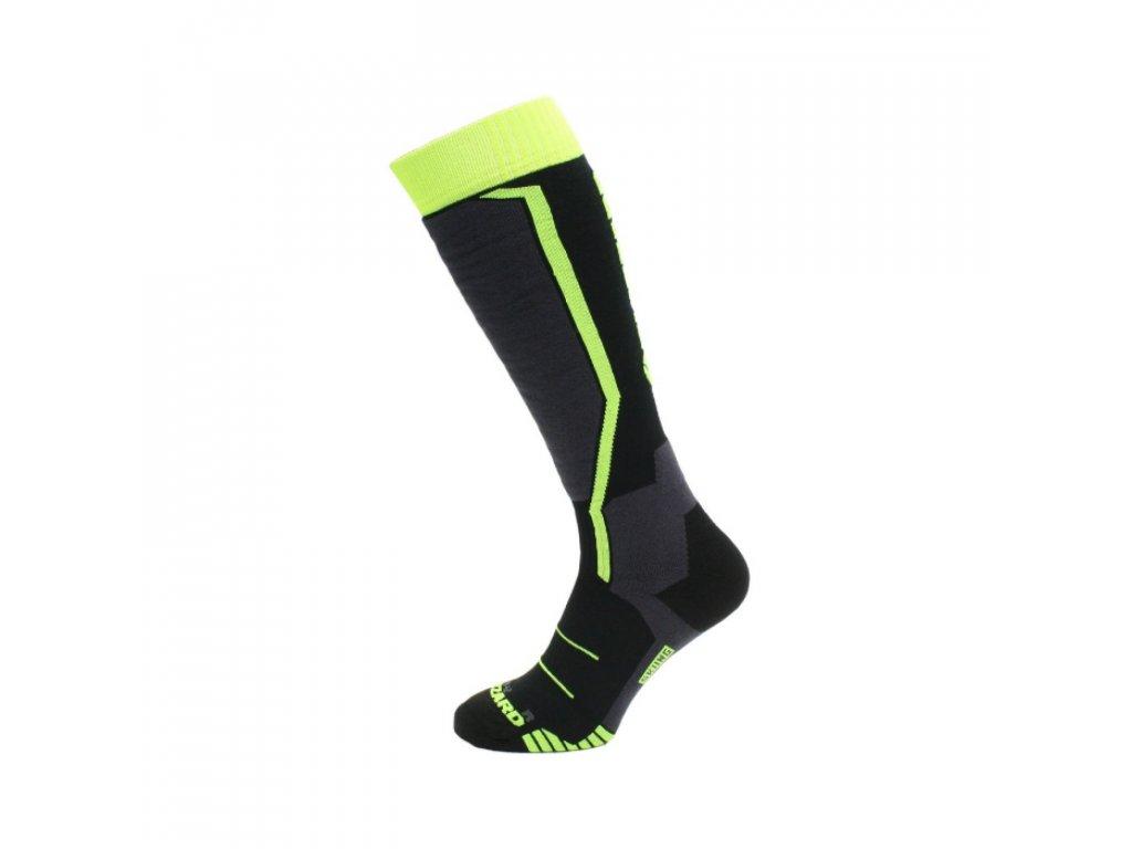 blizzard viva allround ski socks jr black yellow w1600 h1600