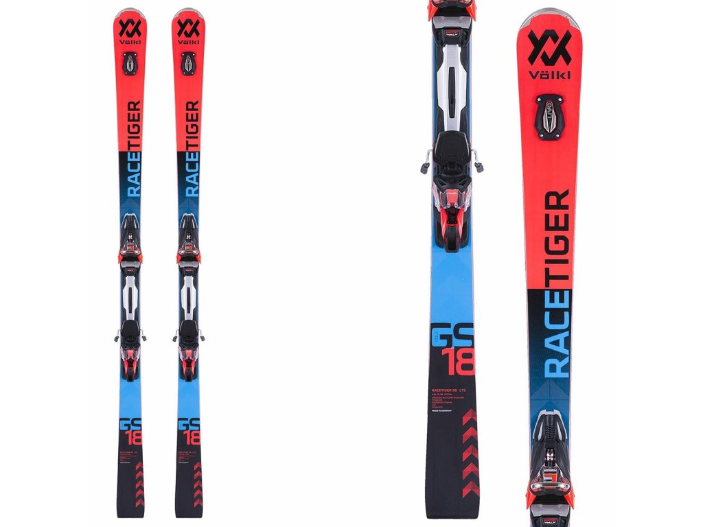 ski volkl racetiger gs bindings rmotion 2 120