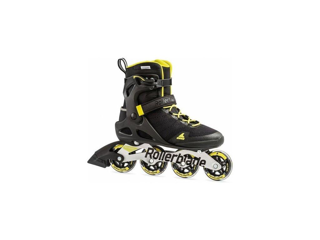 Rollerblade SIRIO 80 Black/Yellow 2019
