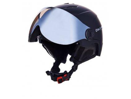 Lyžařská helma Blizzard Double Visor black matt/smoke lens/mirror