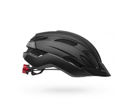 bell trace led mips road bike helmet matte black right