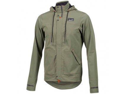 pearl izumi men s versa barrier jacket foothills green size l 142812