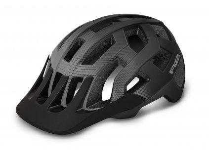Cyklistická helma R2 ATH24F FARGO, Black, grey