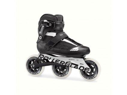 Kolečkové brusle Rollerblade ENDURACE 110, Black/White