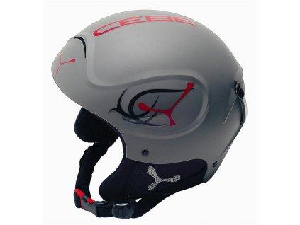 Lyžařská helma CÉBÉ IMPACT FREESTYLE Jr. - grey 16/17 (z výstav)