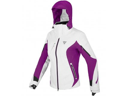 Dainese BELLEVUE DRY JACKET LADY - white/purple/black