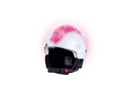 Teplo-uši ČÍRO růžovo-bílé