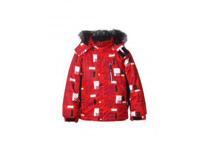 Icepeak RASMUS KID BUNDA - red