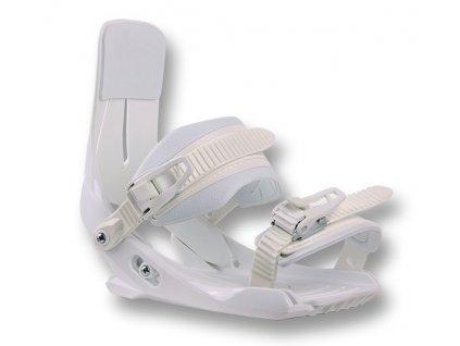Snowboard vázání SP JUNIOR 180 - white