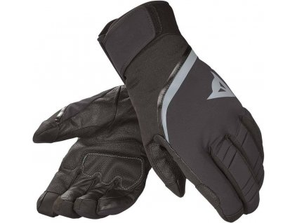 Dainese CARVED LINE D-DRY - black/steel gray