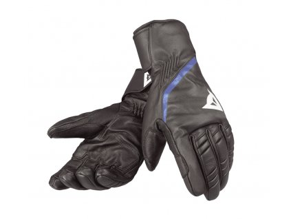 Dainese SPEEDCARVE 13 GLOVE - black/white/nautical-blue
