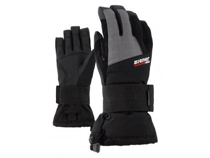 Ziener MERFY JUNIOR GLOVE - black