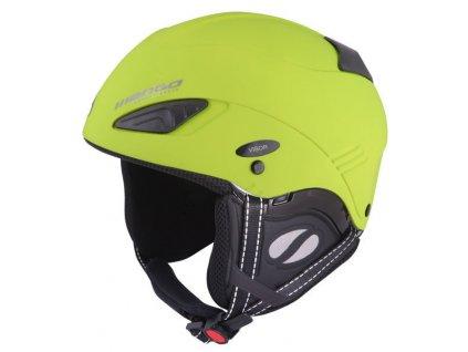 Lyžařská helma Mango WIND FREE - limeta mat 18/19