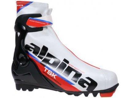 Alpina TSK Skate - white/black/red 18/19
