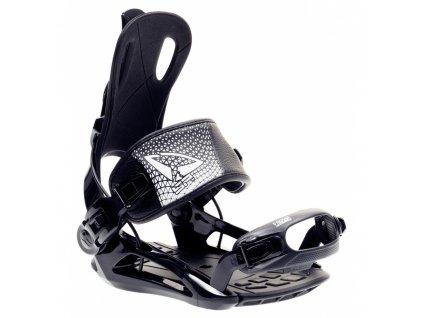 Snowboard vázání SP FASTEC 270 - black/white 19/20
