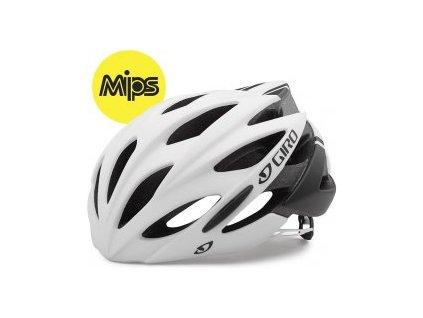 Cyklistická helma Giro SAVANT MIPS - matte white/black