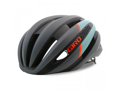 Giro SYNTHE MIPS - matte charcoal/frost