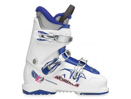 Lyžařské boty Nordica FIRE ARROW TEAM 3 - white/dark blue - použité 17/18
