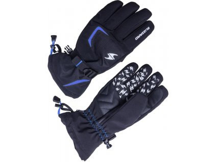 Blizzard REFLEX ski gloves, black/blue