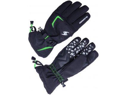 blizzard 160263 reflex ski gloves black green 0
