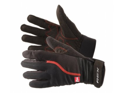 perchatki rex kuusamo black red 17 18