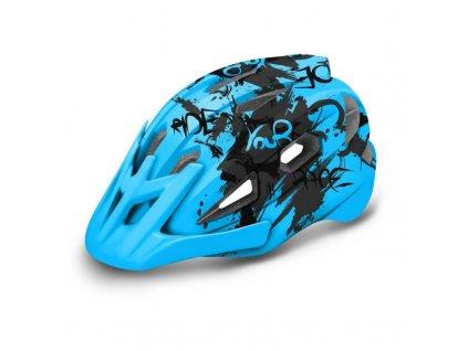 detska helma r2 ath23b wheelie modra 2020