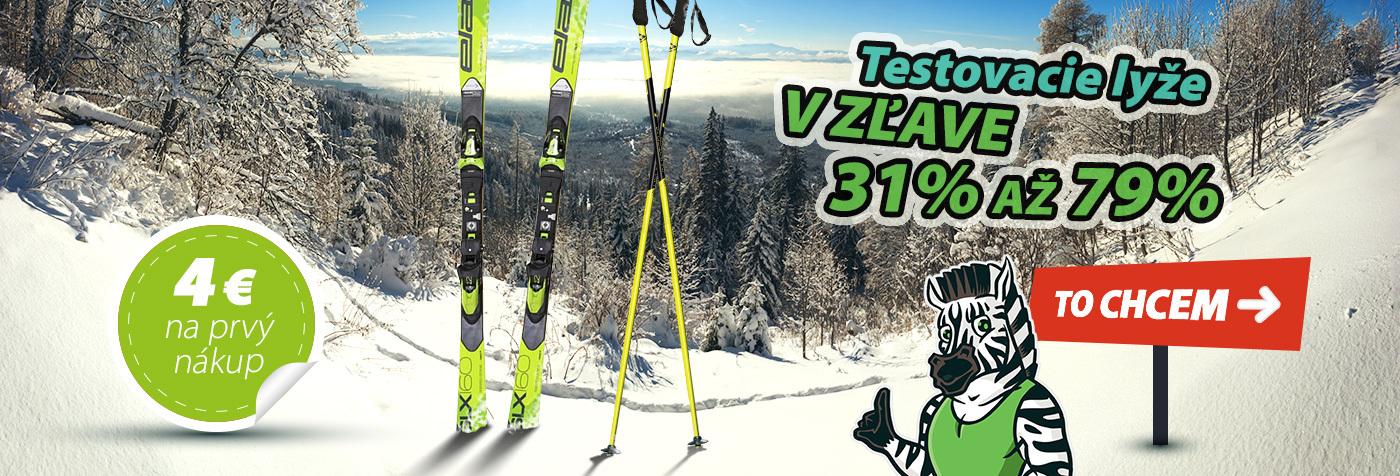 testovacie lyže
