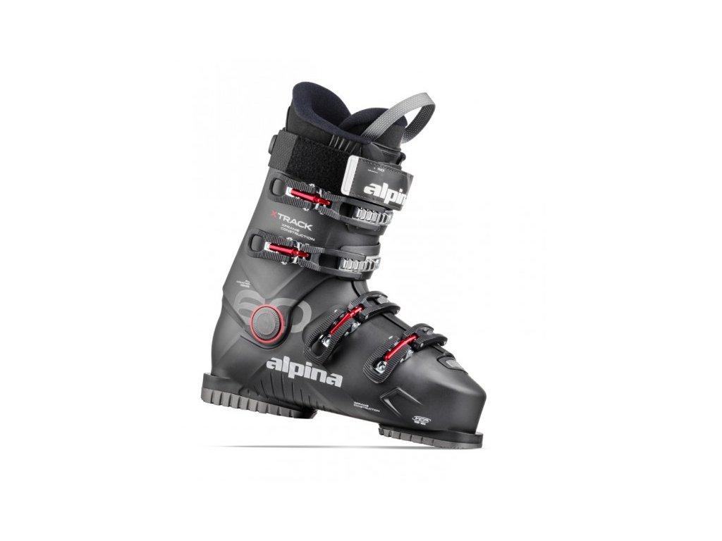 Alpina XTRACK 60 Black / Red, 20/21 (veľkosť EUR 40)