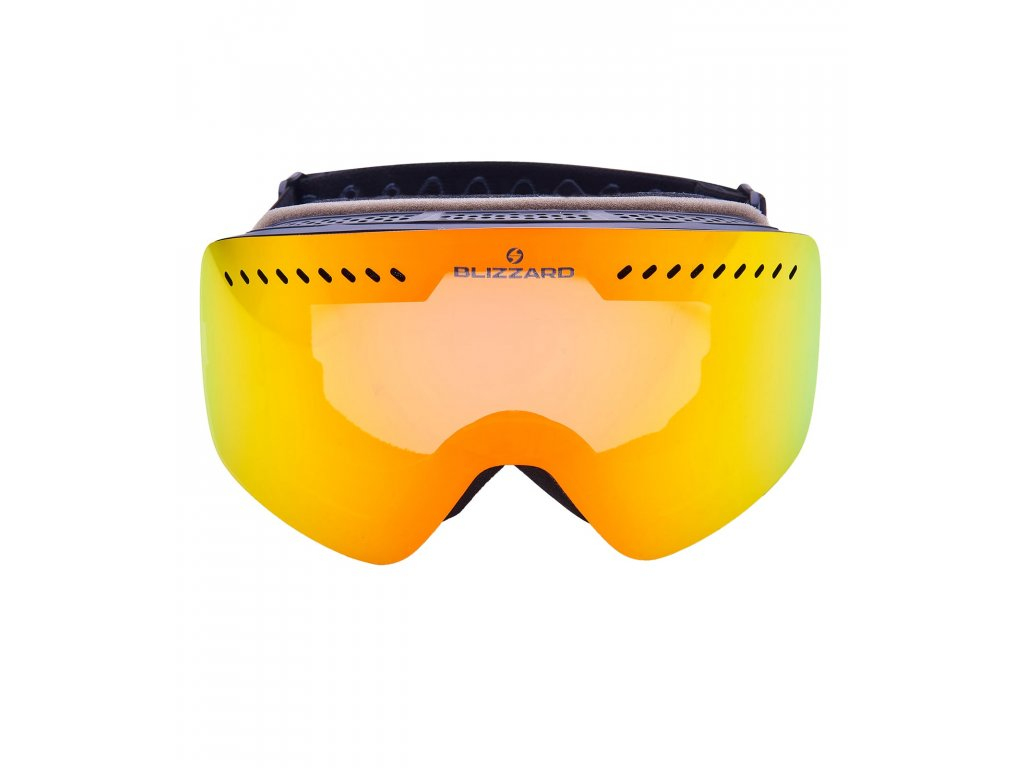Blizzard Ski Gog. 985 MDAVZO black matt / smoke2 / red revo (Pohlavie univerzálne)