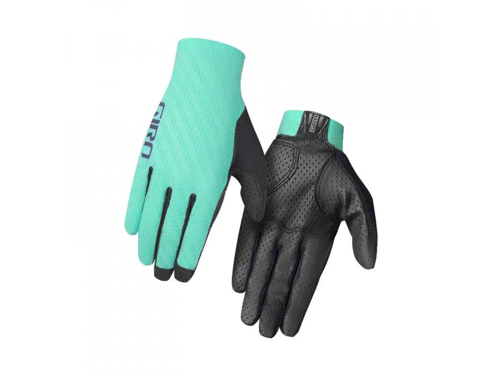 Cyklistické rukavice Giro RIV'ETTE SK W, Green (veľkosť L)