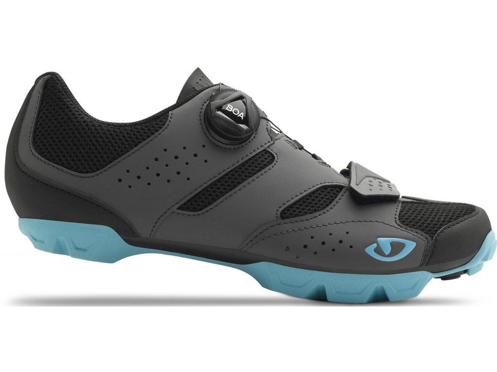 Cyklistické tretry Giro W CYLINDER, Shadow / Iceberg (veľkosť EUR 39)