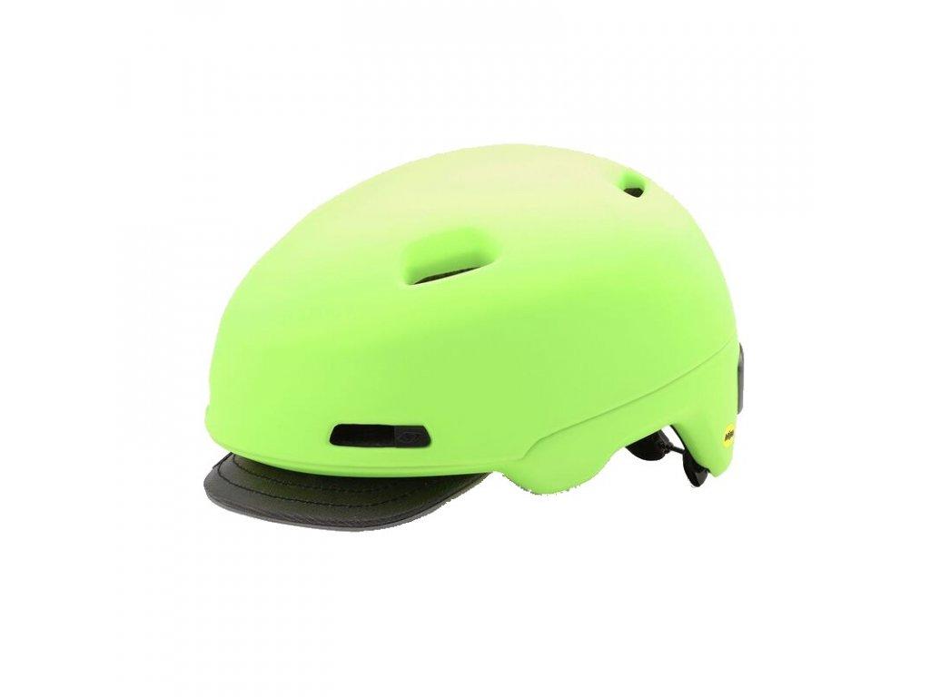 Cyklistická prilba Giro SUTTON MIPS, Matte Highlight Yellow (Helmy vel. S / 51-55)