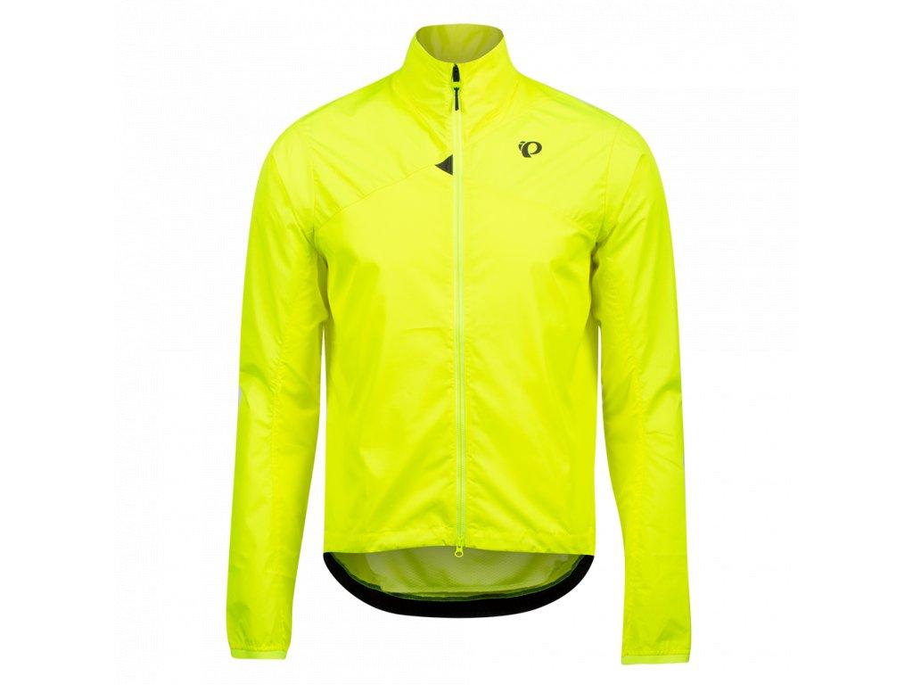 Cyklistická bunda Pearl Izumi BioViz® BARRIER JACKET Yellow / Reflective Triad (veľkosť M)