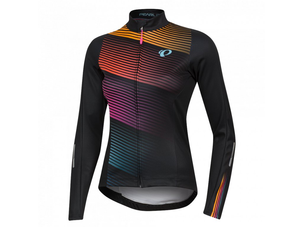 pearl izumi womens elite pursuit thermal graphic jersey 329837 12
