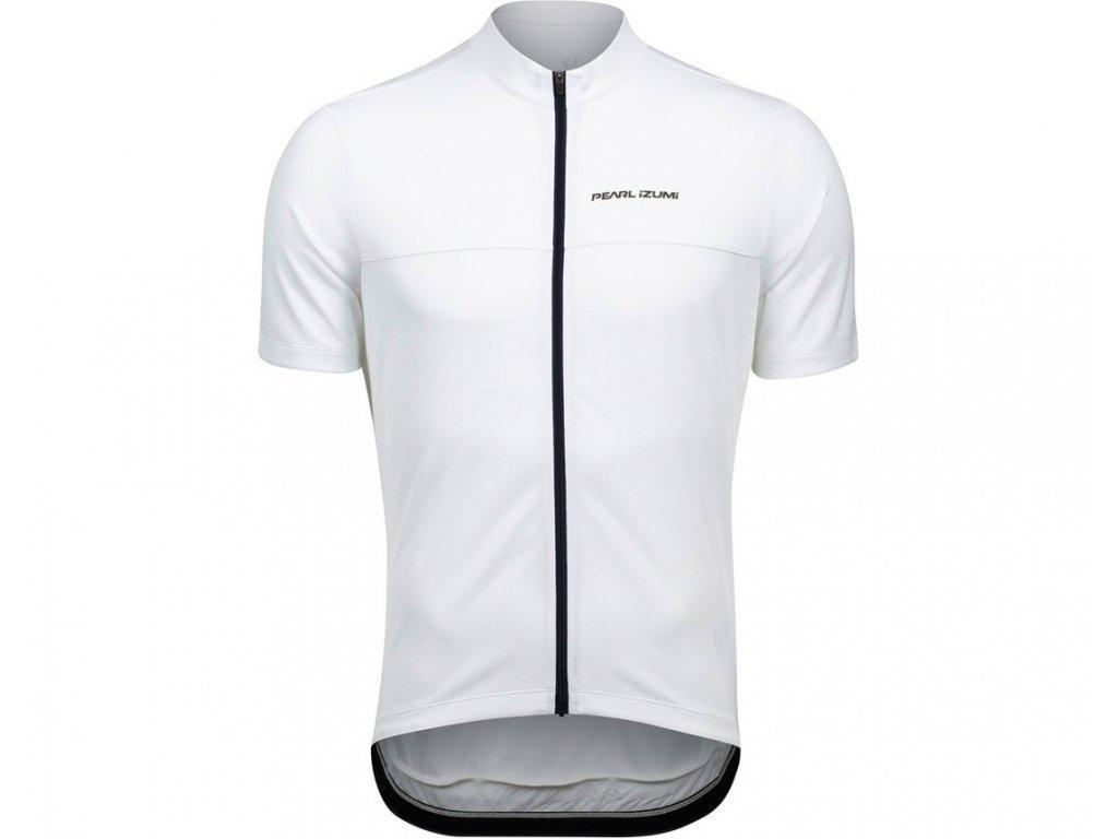 Cyklistický dres Pearl Izumi QUEST Jersey White / Navy (veľkosť M)