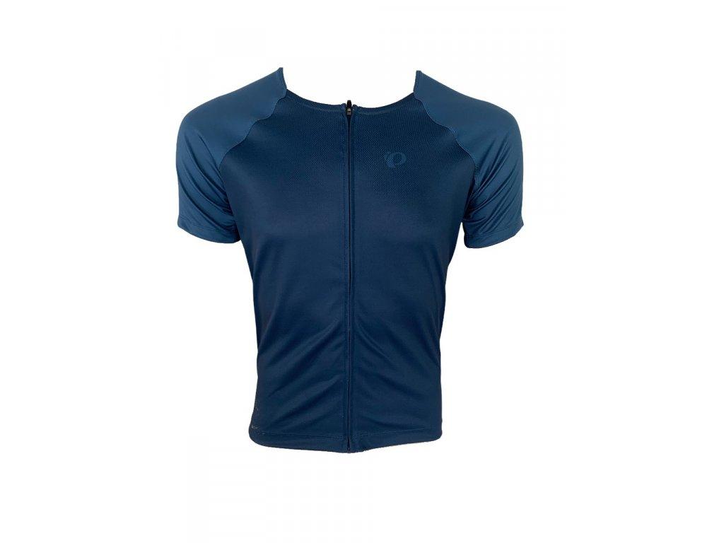 Cyklistický dres Pearl izumi W CANYON Graphic Jersey Navy / Dark denim aspect (veľkosť M)