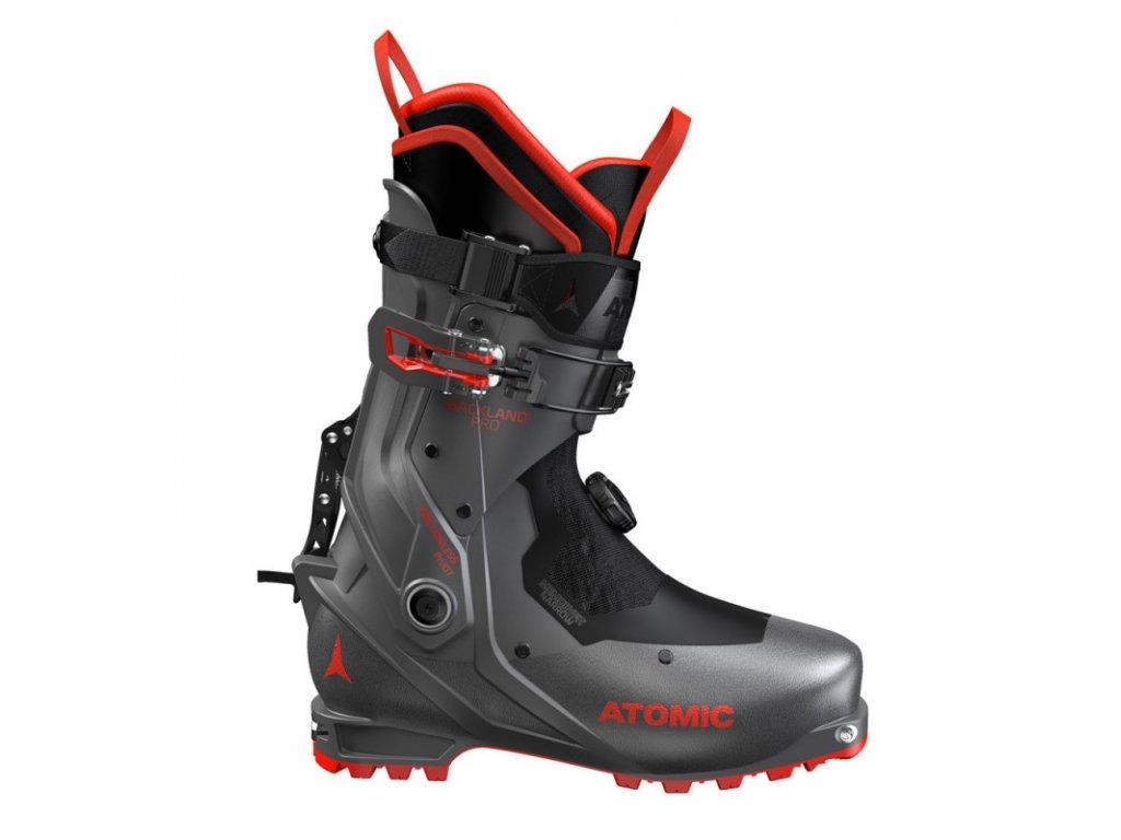 Lyžiarske topánky Atomic BACKLAND PRO 20/21 anthracite / red (veľkosť EUR 40.5-41)