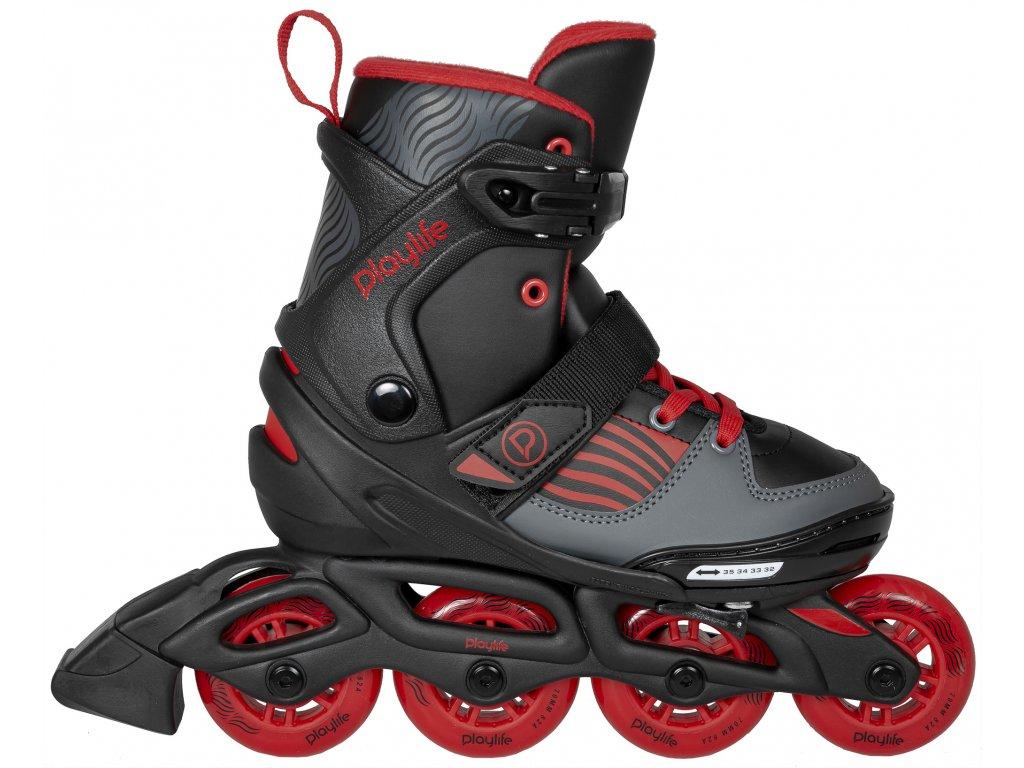 Kolieskové korčule Powerslide Playlife Dark Breeze (veľkosť EUR 32-35)