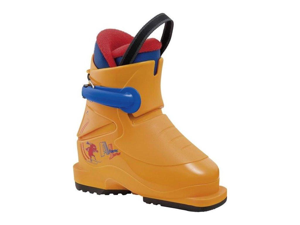 Lyžiarske topánky Atomic AJ PLUS oranžová 16/17 (veľkosť EUR 26)
