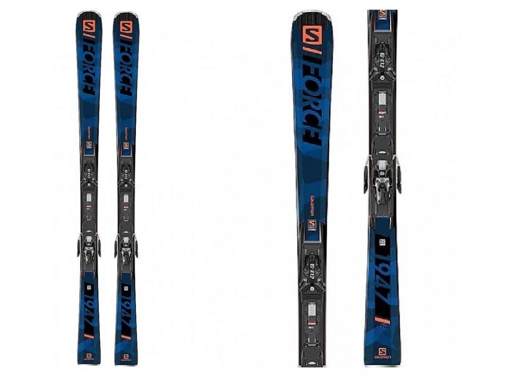 Zjazdové lyže Salomon S / FORCE 1947 + X12TL 19/20 Limited Edition (dĺžka lyže 177)