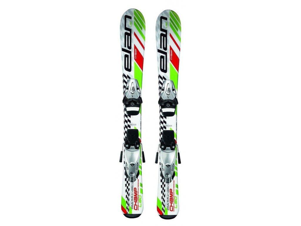 Zjazdové lyže Elan CHAMP + EL 4,5 green (dĺžka lyže 70)