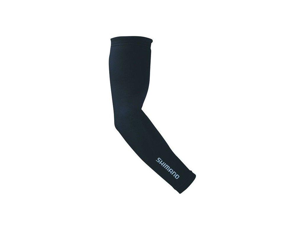 Shimano ARM Warmers LYCRA - návleky na ruky - čierne (varianta XL)
