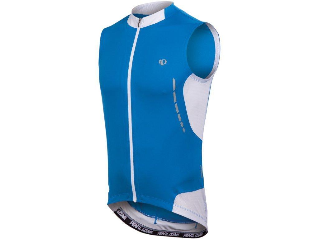 Cyklistický dres Pearl izumi ELITE SL JERSEY - true blue / white (varianta S)