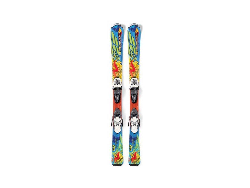 Nordica FIRE ARROW TEAM jr. + Marker 4.5 FT 17/18 (dĺžka lyže 80)