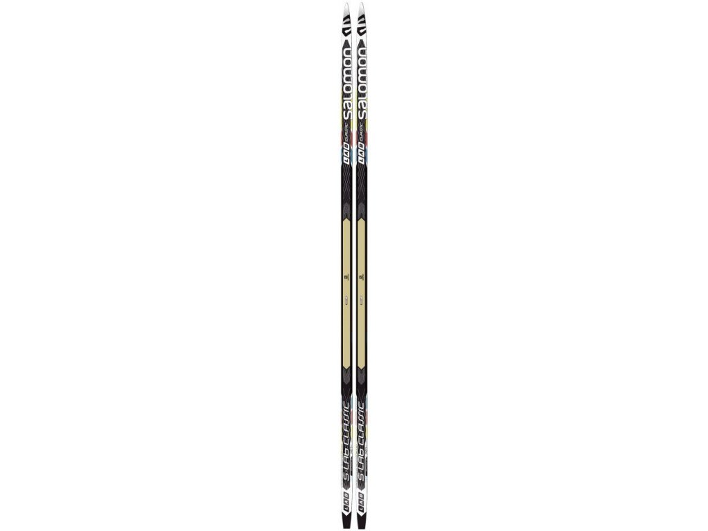 Salomon S-Lab CLASSIC cold / med, black / white, 16/17 (dĺžka lyže 196)