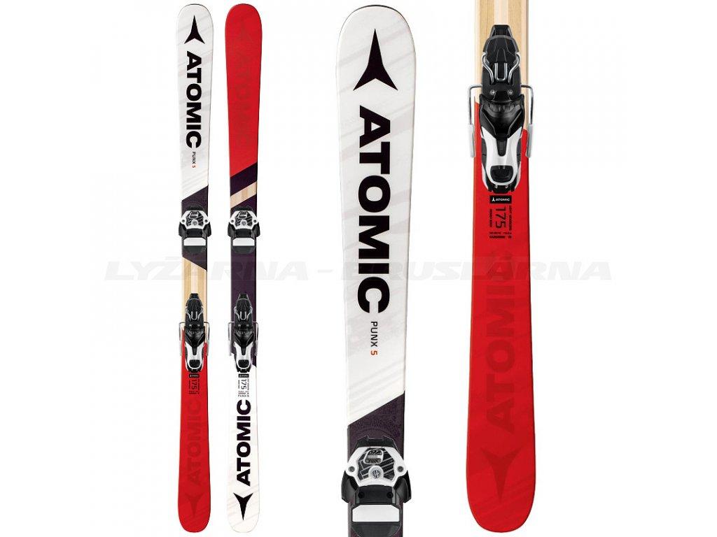 Zjazdové lyže Atomic PUNX 5 FIVE + viazanie Warden 11 Demo 17/18 (dĺžka lyže 175)