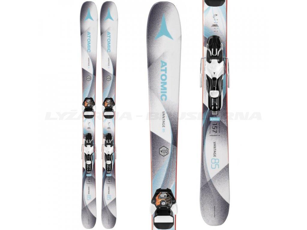Zjazdové lyže Atomic VANTAGE 85 W + viazanie Warden 11 17/18 (dĺžka lyže 157)