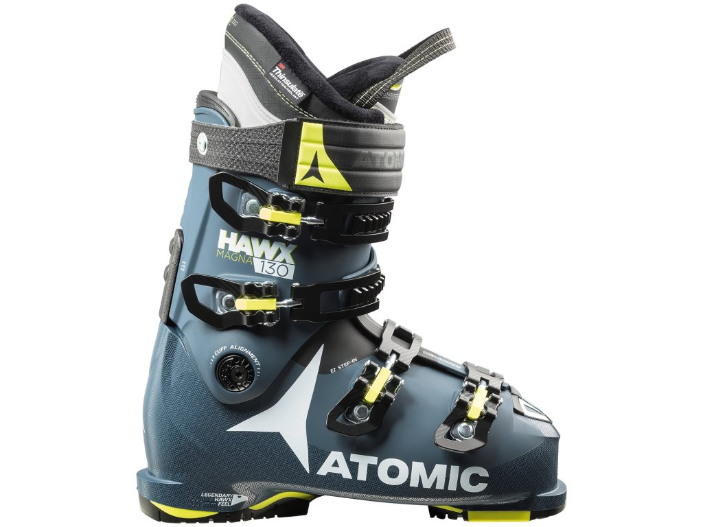 Atomic HAWX MAGNA 130 modrá / žltá 17/18 (EÚ (euro) EUR 40,5-41 / 26-26,5 cm)